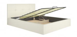 Кровать интерьерная Милос 72-02 с подъемным механизмом