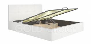 Кровать интерьерная Милос 72-01 с подъемным механизмом