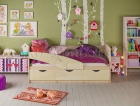 Кровать ПВХ Дельфин, Дельфин-1, Бабочки 1,6 м