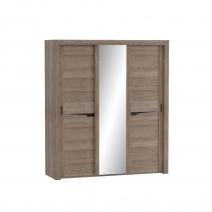 """Шкаф с раздвижными дверями (3 двери) """"Соренто"""""""