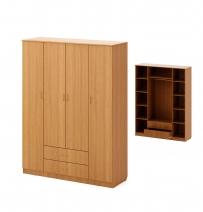 Шкаф распашной 4-х створчатый, с 2 ящиками
