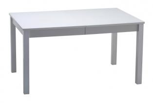Стол раздвижной Нагано-2 стекло белое opti