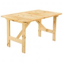 Стол дачный деревянный