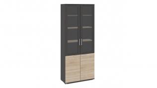 Успех-2 ПМ-184.17 Шкаф для документов с 2-мя дверями со стеклом
