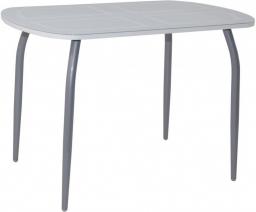 Стол обеденный Флеку-2 (нога №2) хром-лак
