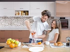 Кухонный гарнитур Волна (капучино)