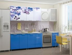 Кухня с фотопечатью 1,6 м