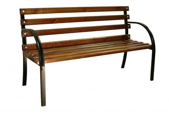 Скамейка с изогнутым подлокотником «Былина»