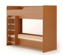 Кровать двухъярусная № 2 с матрасом 0,7х1,8