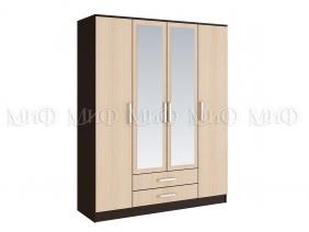 """Шкаф 4-х створчатый для спальни """"Фиеста"""""""