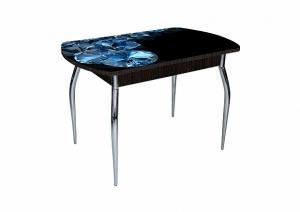 Стол со стеклянной столешницей Asti-Foto