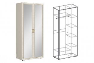"""Шкаф 2х створчатый комбинированный с зеркалом """"Виктория"""""""