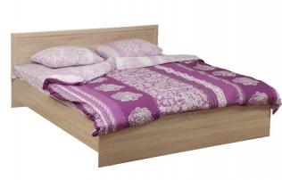 Кровать двуспальная 21.52-02 Фриз с настилом (1200)
