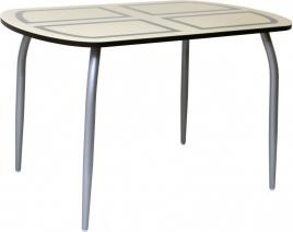 Стол обеденный Флеку-К (нога №2) хром-лак