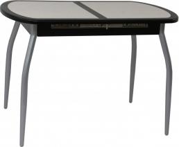 Стол с плиткой Будапешт-мини new  (хром)