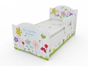 """Кровать детская """"Цветочные сны"""", серия Классик"""