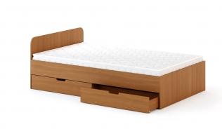Кровать с ящиками 1200 с матрацом 1,2х2,0