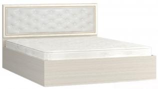 """Кровать (1600) с мягким изголовьем """"Виктория"""""""