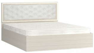 """Кровать (1800) с мягким изголовьем """"Виктория"""""""