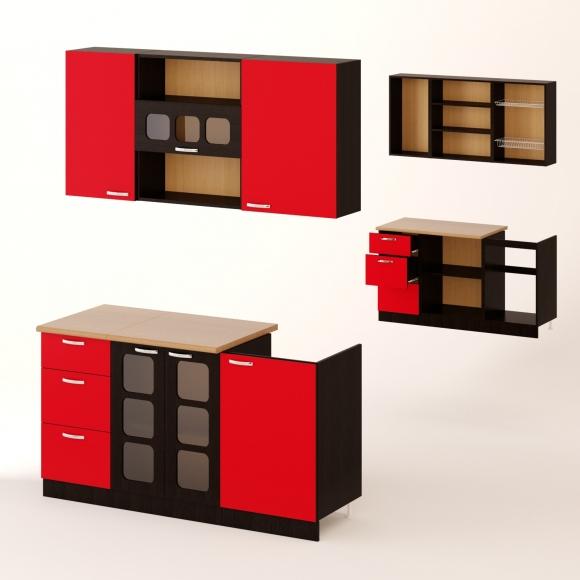 Кухня Семафор 13 - Недорогая мебель для кухни