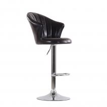 Барный стул Barneo N-31 Лидер коричневый глянец