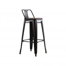 Барный стул N-238 Tolix Wood style