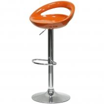 """Барный стул Barneo """"N-6 Disco"""" оранжевый"""