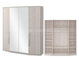 Шкаф «Роксана» 4 с зеркалом