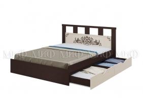 """Кровать 1,6 """"Жасмин"""" с ящиками"""
