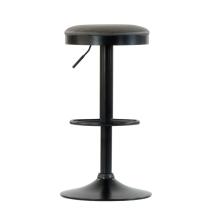 Барный стул Barneo N-129 Green / Black / FPU серая кожа