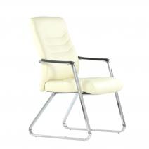 Кресло Barneo K-25 для посетителей и переговорных, хром