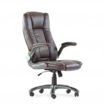Кресло Barneo K-24 для руководителя, газлифт 3кл, PU-R57