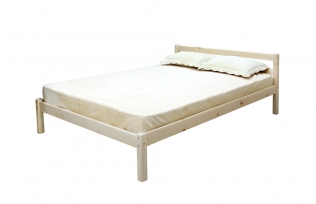 """Кровать с опорными брусками """"Рино"""" 1200"""