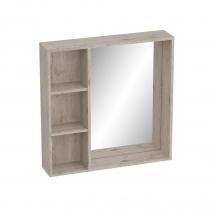 """Полка  """"Фан"""" с зеркалом прихожая"""