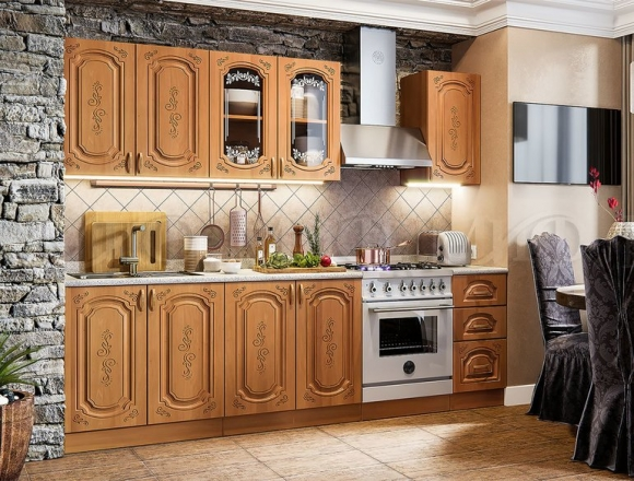 Кухонный гарнитур Лиза-2 (длина 1,7 м)