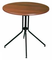 Стол деревянный  круглый ЛДСП