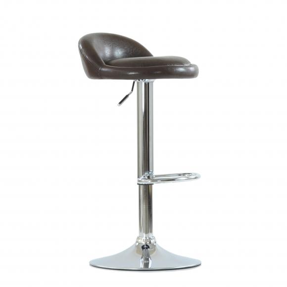 Барный стул Barneo N-97, Коричневый глянец