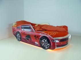 """Кровать детская """"Молния Премиум"""" с подсветкой"""