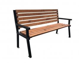 Скамейка из квадратной трубы