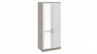 Шкаф для одежды с 1-ой глухой и 1-ой зеркальной дверями «Прованс»СМ-223.07.005L
