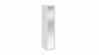 Шкаф для белья с 1-ой дверью с зеркалом «Ривьера» СМ 241.07.001