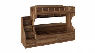 Кровать двухъярусная с приставной лестницей «Навигатор» СМ-250.11.12