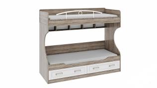 Двухъярусная кровать (без лестницы) «Прованс» ТД-223.11.01