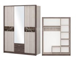 """Шкаф """"Николь"""" 3-х дверный с зеркалом"""