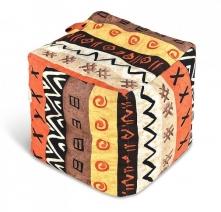 Пуф мягкий куб «Африка»