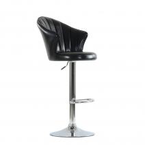 Барный стул Barneo N-31 Лидер черный глянец