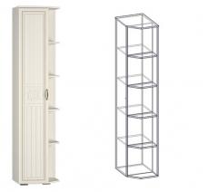 """Шкаф-стеллаж левый (540) """"Виктория"""""""