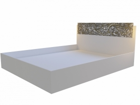 """Кровать 1,6 м модульная спальня """"СЕЛЕНА EVO"""""""