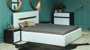 Кровать с подъёмным мех. Иоланта (1400)