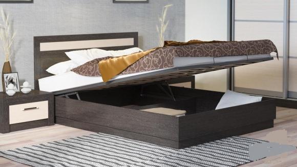 Кровать «мио» с подъемным механизмом